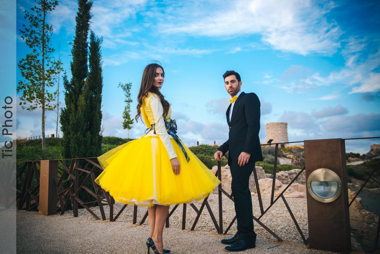 Preboda de modelos en Cartagena. Antonio & Cati 3