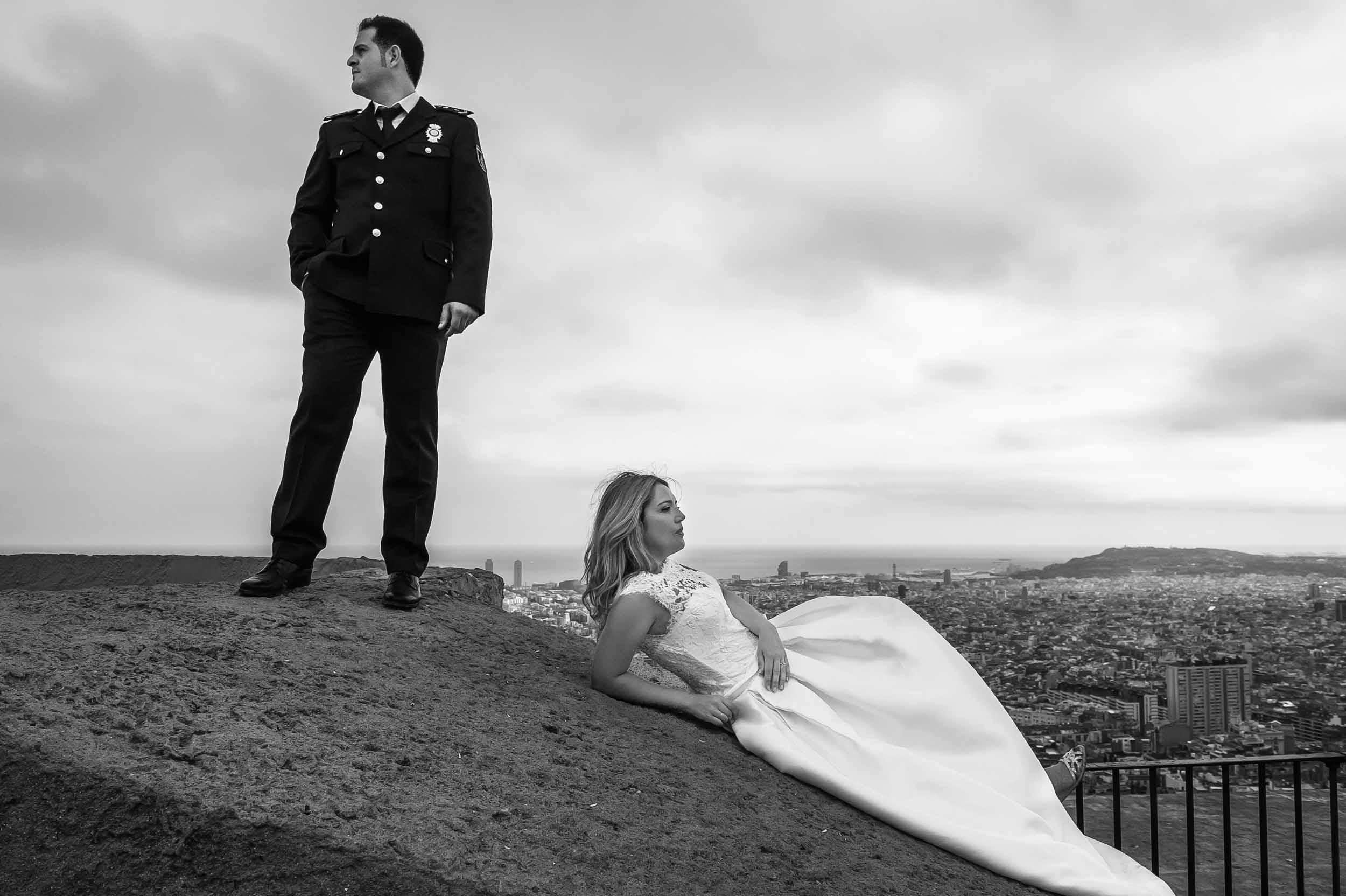Post boda en Barcelona y Sitges. 2018 11