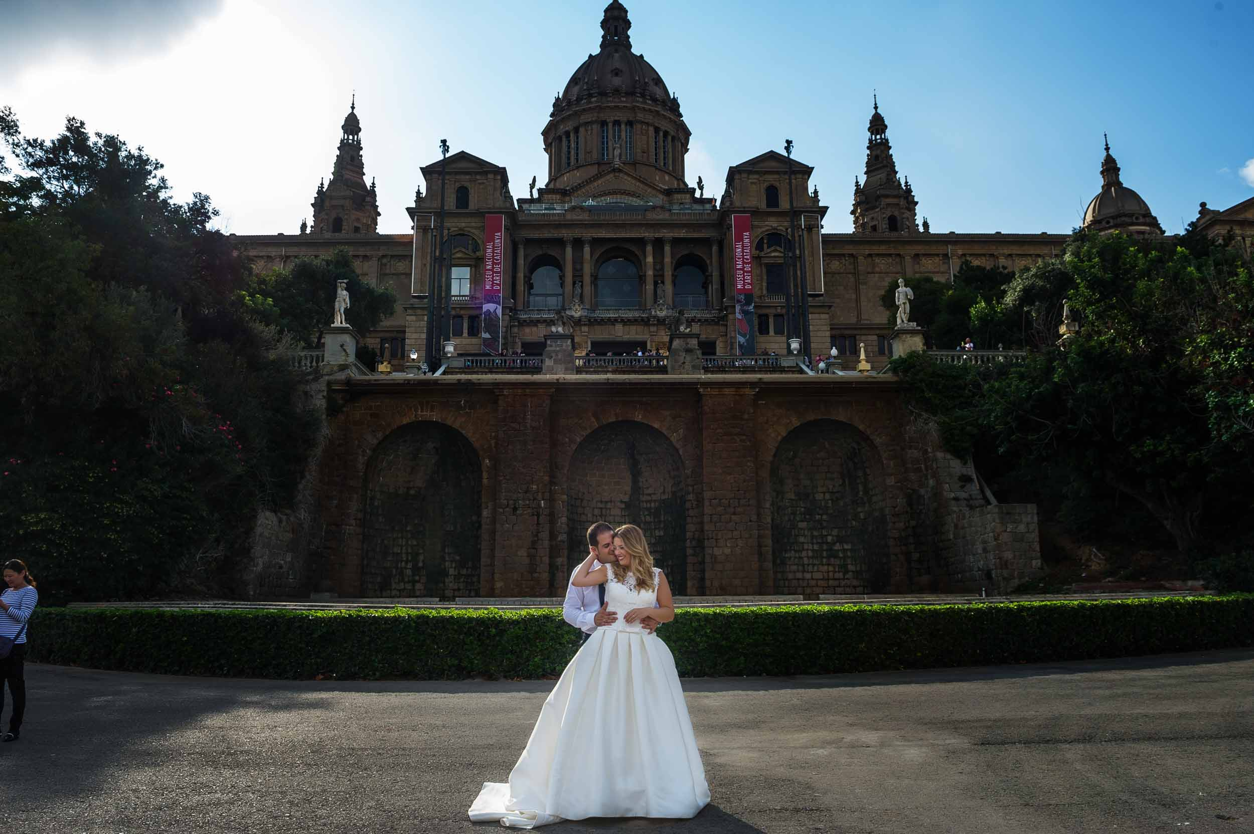 Post boda en Barcelona y Sitges. 2018 1