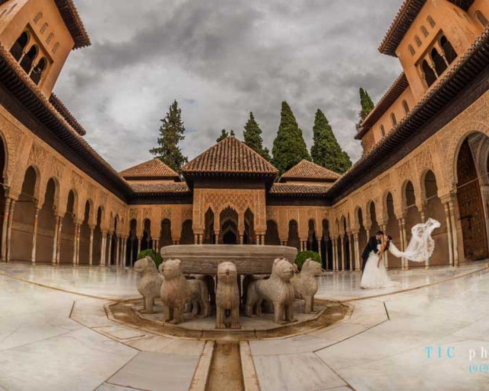 Post-boda en la Alhambra.2019