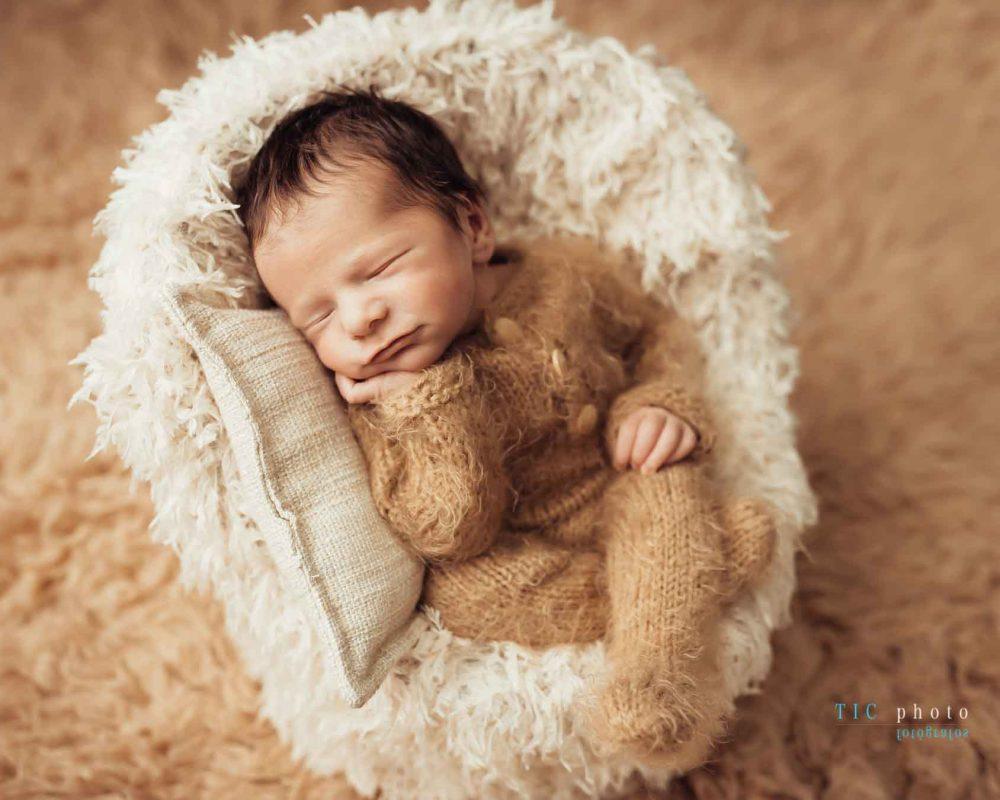 Fotos newborn. Liam 8 días.