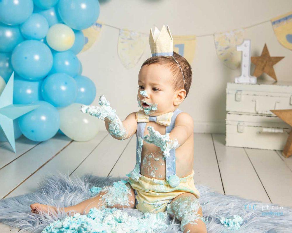 Sesion primer cumpleaños Enzo. 2021